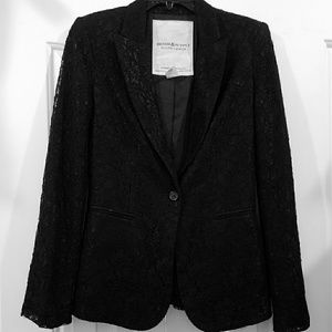 Ralph Lauren Denim and Supply Black Blazer